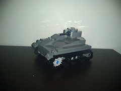 Type 94 Tankette (MeMyselfAndBricks) Tags: lego ww2 wwii military tankette brickarms brickmania japanese pacific marines snlf special naval landing force japan china pla nanking imperial army tank toy mod moc