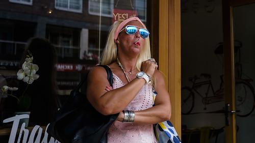 Amsterdam, By Myself, Center, Fun, Netherlands, Street, Style, Sunglasses, Waiting/Break