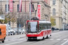 BRN_1049_201811 (Tram Photos) Tags: ckd tatra k2r03p brno brünn strasenbahn tram tramway tramvaj tramwaj mhd šalina dopravnípodnikměstabrna dpmb k2