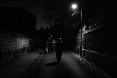 On the Way Home from the Football (Bury Gardener) Tags: burystedmunds british britain suffolk england eastanglia uk 2018 nikond7200 nikon snaps street streetphotography streetcandids strangers candid candids people peoplewatching folks bw blackandwhite monochrome mono