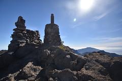 Summit Cairn (PLawston) Tags: spain canary islands la palma roque de los muchachos parque nacional caldera taburiente summit cairn monument