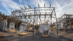 (Western Maryland Photography) Tags: substation electrical high voltage canoneos6d