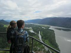 river gorge (Bolt of Blue) Tags: beaconrock beaconrockstatepark columbiariver columbiarivergorge remi washington bebe river
