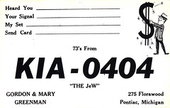 30023617 (myQSL) Tags: cb radio qsl card 1970s