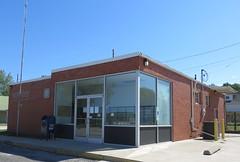 Post Office 63336 (Clarksville, Missouri) (courthouselover) Tags: missouri mo postoffices pikecounty clarksville northamerica unitedstates us