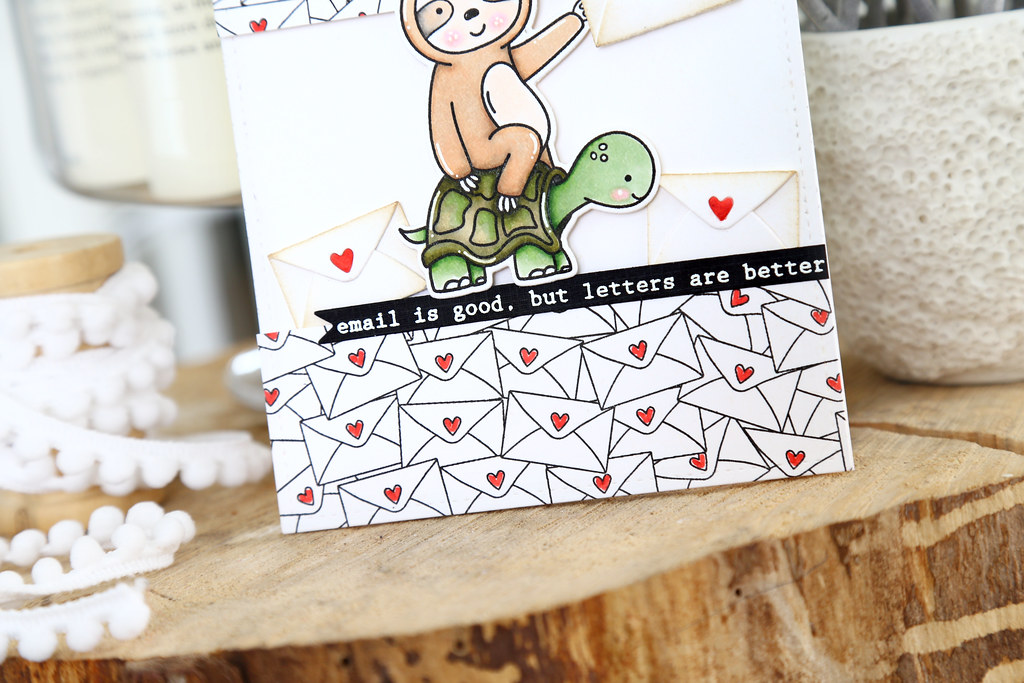 snail mail (Neat and Tangled release wee by mom2sofia, on Flickr