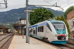Diesel-Minuetto serie ALn.501 van Treniitalia. Trento (Hans Wiskerke) Tags: trento trentinoaltoadige italië it