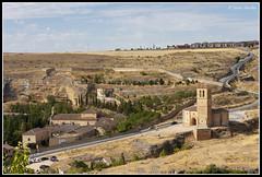 Cruz al cubo. (Javier Sánchez Núñez) Tags: iglesia vera cruz ermita convento san juan de la segovia castilla y león
