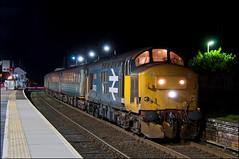 37403, Oulton Broad North (UK), 28/01/19 (bontybermo402) Tags: 37403 37407 2j88 oultonbroadnorth greateranglia shortset englishelectric drs aga britishrail