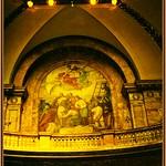 Boston Massachusetts  - Historic State Capitol - Interior Dome Mural thumbnail