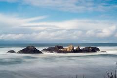 Seal Rock, Oregon; Small things project (Lostinplace) Tags: blue longexposure blur oregon