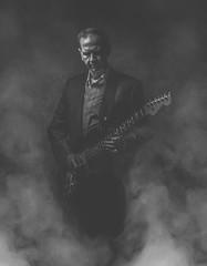 (Kenji Gunderson) Tags: godox ad2oo kenjigundersoncom strobist strobe canon smoke guitar composite lowkey bw blacknwhite detroit michigan