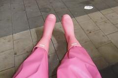 Hunter Play boots (lulax40) Tags: pink rainwear rubber rubberist rubberboots regenkleidung raingear rubberfetish rubberslave rubberman rubberpants gummistiefel gummimann gummi gummikleidung gummiregenkleidung latexslave abeko hunter humiliation hunterboots