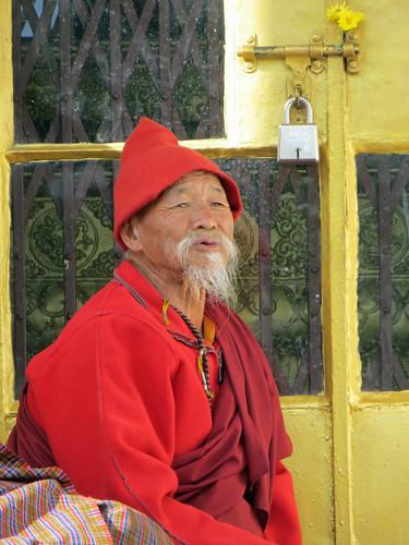 06 02 Bhutan - Thimpu - Memorial Chorten 014