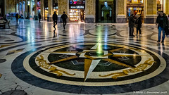 Naples, Italy: Dead center in Galleria Umberto I shopping center (nabobswims) Tags: campania galleriaumberto hdr highdynamicrange ilce6000 it italia italy lightroom mirrorless nabob nabobswims naples napoli photomatix sel18105g shoppingcenter sonya6000