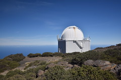 Observatory on the Ridge (PLawston) Tags: spain canary islands la palma roque de los muchachos caldera taburiente parque nacional mountains telescopes observatory