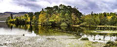 Derwent Water - Autumn Panorama (Paul Thackray) Tags: lakedistrictnationalpark englishlakedistrict borrowdale derwentwater autumncolours 2018