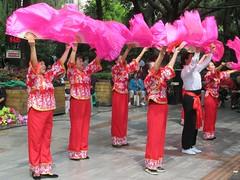 People's Park Dancers (D-Stanley) Tags: dancers peoplespark renminpark chengdu sichuan china