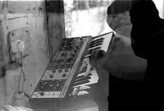 Phone Booth Moog (timmygasslander) Tags: konica hexanon t3 t3n 50mm f17 5017 phonebooth moog grandmother sweden snow fomapan 400 fomapan400 foma400 xt1 scann 55mm f35 macro hc110