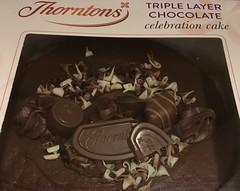 Chocolate Cake Day (Bruce82) Tags: cake chocolate broken 20 20of119 chocolatecakeday 119picturesin2019 appleiphonese thorntons
