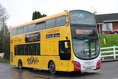 Bus Eireann VWD42 (151C7159). (Fred Dean Jnr) Tags: buseireannroute215 volvo buseireann vwd42 151c7159 tower cork january2019 wrap todayfm b5tl wright wrightbus eclipse gemini3 alloverad