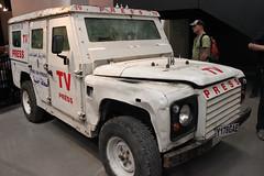 Land Rover Defender Reuter TV Press (portmanspad) Tags: land rover defender reuter tv press