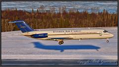 N932CE Everts Air Cargo (Bob Garrard) Tags: n932ce everts air cargo mcdonnell douglas dc933f dc9 balair hbidn anc panc