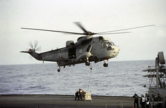 XV659 Westland Sea King HAS.5, Royal Navy, R06 HMS Illustrious, Norway (Kev Slade Too) Tags: xv659 westland seaking royalnavy r06 hmsillustrious norway exercisecoldwinter