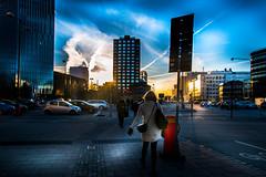 Cityscape (Maria Eklind) Tags: skåne malmö sweden sky solljus sunset city outdoor himmel solnedgång sunreflection cityscape skånelän sverige se