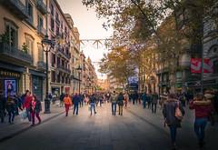 Barcelona portal del ángel (jlmontes) Tags: city ciudad spain barcelona españa samyang14mm nikond3100