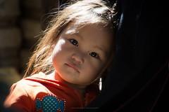 two gifts (aniawagner) Tags: people portrait portraiture child girl vietnam viet vietnamese sapa minority
