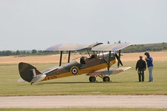Bi-Plane Nostalgia (Heaven`s Gate (John)) Tags: biplane duxford england flight aeroplane nostalgia runway grass sunshine pilot blue sky johndalkin heavensgatejohn raf 191418 aircraft world war first 10faves