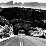 A Minimalist Black & White in Big Bend National Park thumbnail