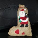 Santas Sock stuffed with walnuts (from my best friend) thumbnail
