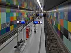 U-Bahn, Georg-Brauchle-Ring (jrw080578) Tags: underground germany deutschland bavaria bayern munich münchen ubahn