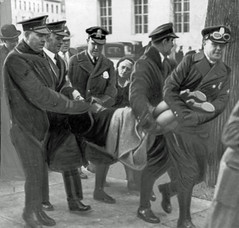 Woman dragged from hunger march: 1932 (Washington Area Spark) Tags: hunger march child misery us communist party young pioneers unemployed council demonstration protest great depression 1932 police arrest