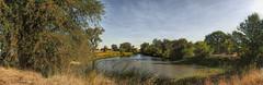 Cosumnes River Preserve Pano (randyherring) Tags: ca california cosumnesriverpreserve elkgrove fall autumn nature outdoor recreational wetlands