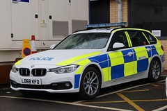 LD68 KFO (Ben - NorthEast Photographer) Tags: humberside police hull bmw 330d 3series traffic car motor patrols rpu roads policing unit base anpr automatic number plate recognition brand new 68plate ld68 kfo ld68kfo