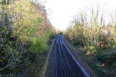 DSC_2172 From Reading towards Earley Station (PeaTJay) Tags: nikond300s england uk berkshire reading earley outdoors publictransport transport trains railways