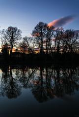 181226_LiebenauMur_014 (Rainer Spath) Tags: österreich austria autriche steiermark styria graz liebenau mur abend evening sonnenuntergang dämmerung sunset dawn reflections