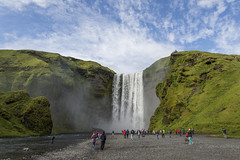 Iceland_20180724_0539 (falconn67) Tags: iceland hike nature canon 5dmarkiii 24105l travel waterfall skógafoss skogafoss skógáriver skogariver landmark cliff green sun icelandicmountainguides