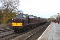 Class 37 (feroequineologist) Tags: dalesman railway train 37 class37 hellifield