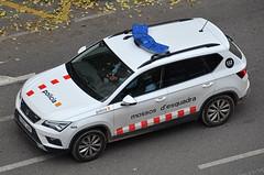 Mossos d'Esquadra (bleulights) Tags: mossos desquadra seat ateca policia police polizia polizei policía rendőrség 警察 polisie polici شرطة polis полиция poliisi policija seguretat ciutadana seguridad ciudadana public safety straz miejska patrulla patrol car