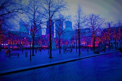 Look how beautiful it can be (JoséDay) Tags: thehague denhaag thenetherlands hetplein blue bluegroupsonflickr blues somethingblueiloveit singintheblues gimp gimp2 sony sonycybershot creativity colours
