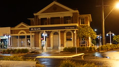 Old Town Hall (spelio) Tags: ballina nsw australia may 2018 shopping window shop night street walking lowlight light handheld