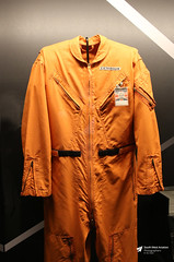 Brian Trubshaw's Flight Suit, British Airways, Aerospace Bristol, Filton, Gloucestershire (Kev Slade Too) Tags: gboaf concorde britishairways aerospacebristol filton gloucestershire museum