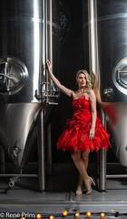 december dress (reneprins) Tags: decemberdress dress fashionphotography fashion brewery red blondgirl modelshoot nikonphotography nikon d800 reddress