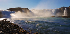 Goðafoss (kalakeli) Tags: wasserfälle waterfalls goðafoss iceland island september 2018 galaxys9 wasser water blue blau