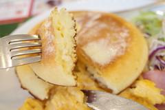 breakfast pancake scramble egg, bacon, sausage RICOH GR 35 (HAMACHI!) Tags: food foodporn foodie foodmacro tokyo 2019 japan ricoh ricohgriii ricohimaging ricohgr gr gr3 griii loadtest cameratest shibuya breakfast pancake scrambleegg