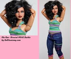 Ola Rae, a Biracial OOAK (hybrid) customized repaint by DollAnatomy! (Gypsy X) Tags: mbili barbierepaint sissoinstyletrichelleooakrepaint marineraluna dollsoftheworldbarbie dollanatomycom kenrepaint ooakbarbie ooakdoll ooak repaintbarbie repaintken artdoll